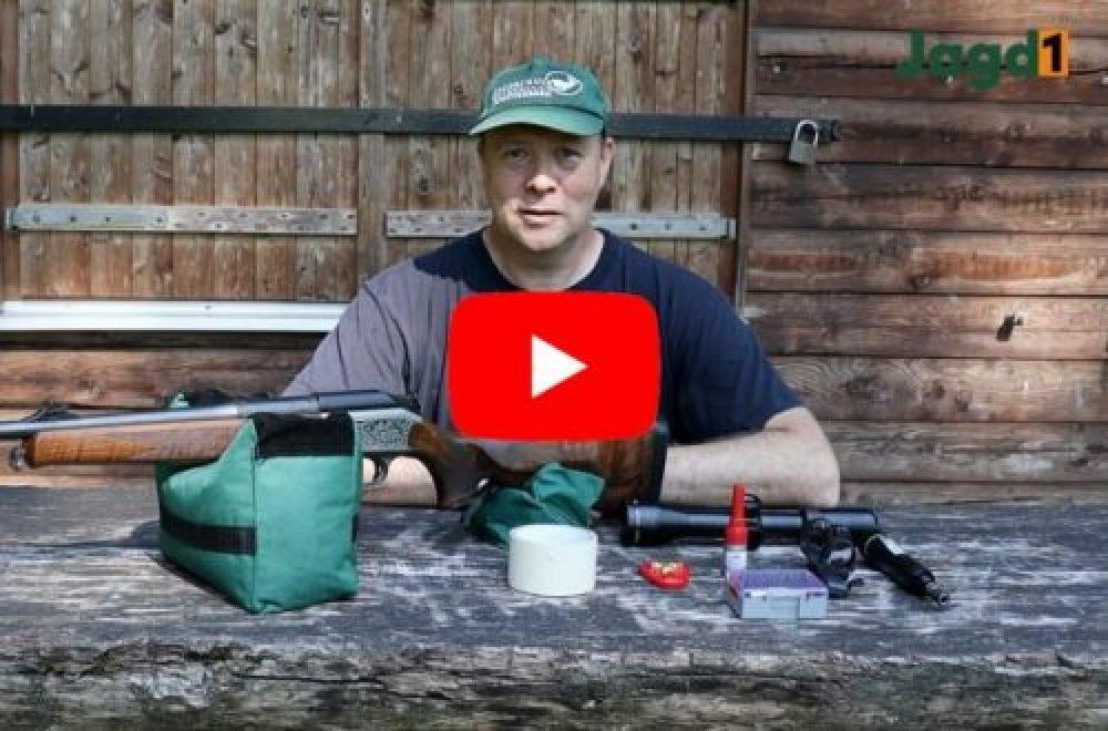 Jagdausrüstung im Einsatz – Zielfernrohr montieren